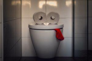 トイレとペーパー